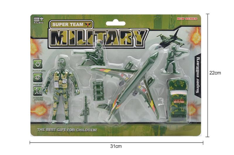 Pull back military soldier toys No.TA258196