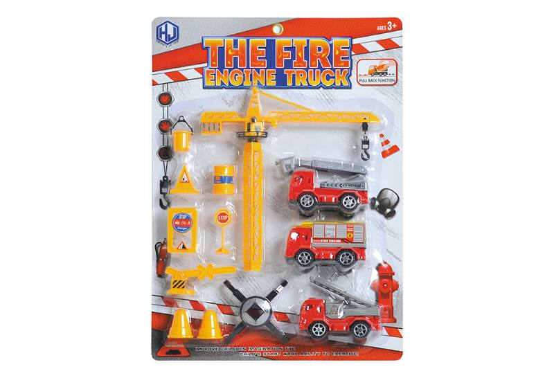Pull back cars Construction vehicle toys No.TA259413