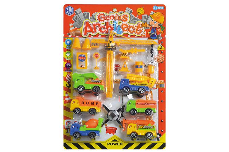 Pull back cars Construction vehicle toys No.TA259414