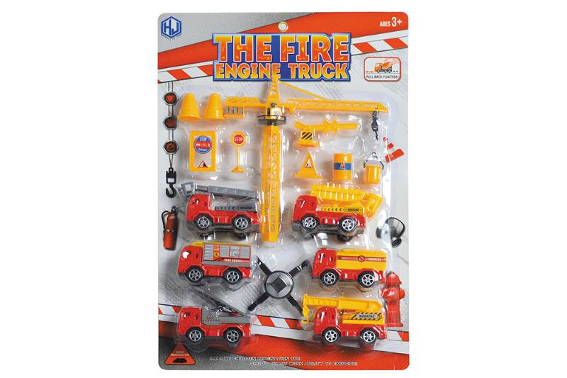 Pull back cars Construction vehicle toys No.TA259415
