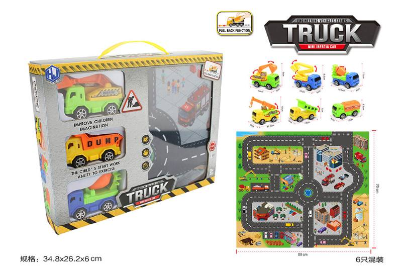 Pull back cars Construction vehicle toys No.TA259420