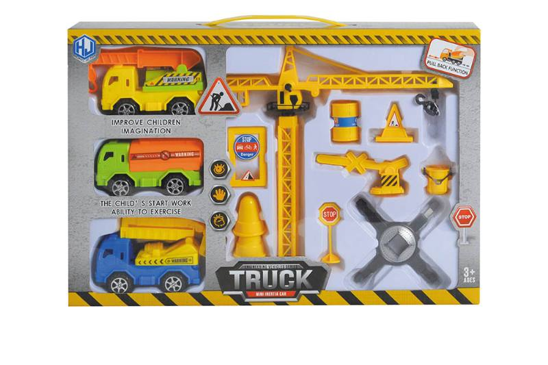 Pull back cars Construction vehicle toys No.TA259421