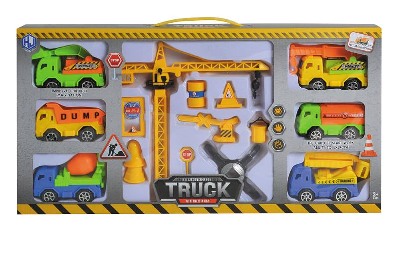 Pull back cars Construction vehicle toys No.TA259425