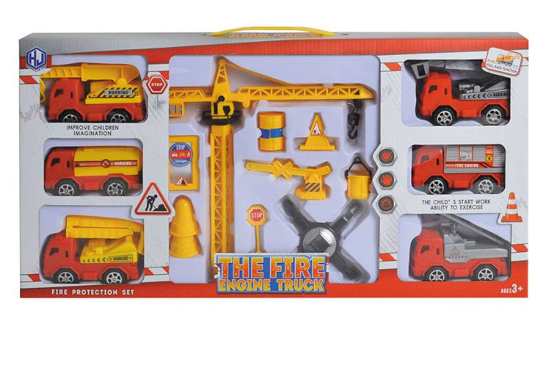 Pull back cars Construction vehicle toys No.TA259427