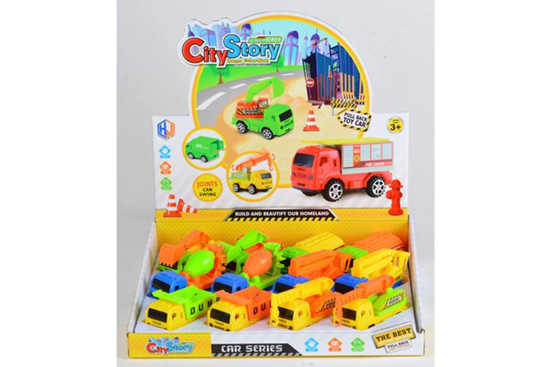 Pull back cars Construction vehicle toys No.TA259428