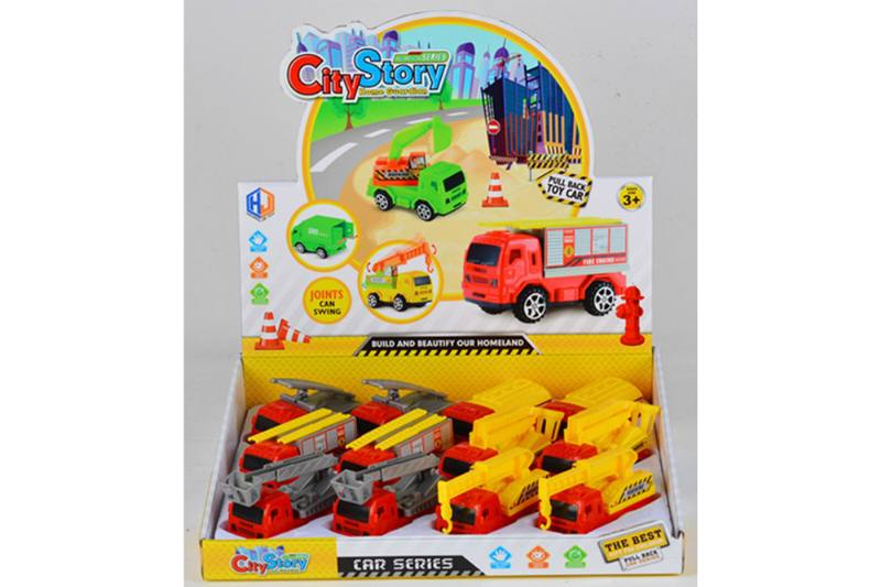 Pull back cars Construction vehicle toys No.TA259429