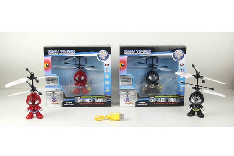 Inductive Flying Spiderman (two colors/ 3s start without remote control) NO.TA262898