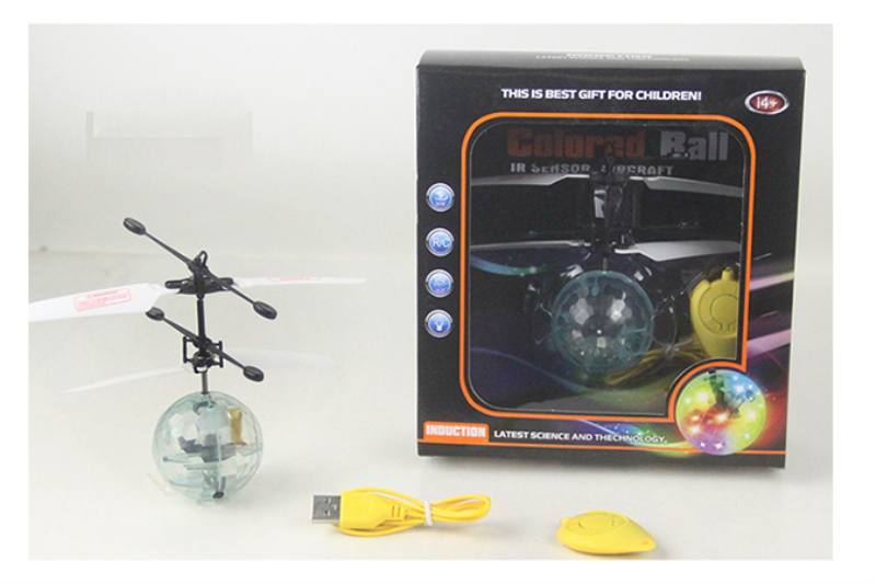 Induction flying flash ball (3s start with remote control) NO.TA262901