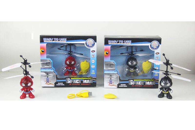 Inductive Flying Spiderman (two color/ 3s start with remote control) NO.TA262903