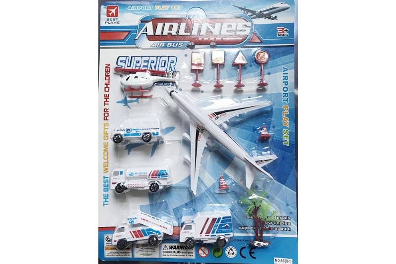 Pull back plane set toys No.TA255208