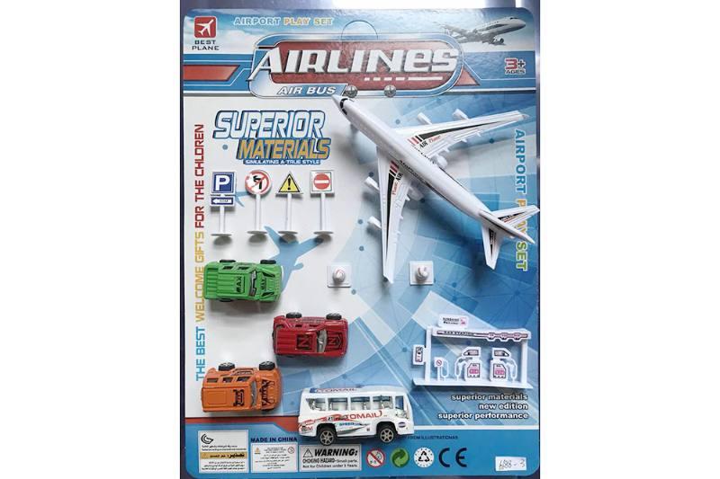 Pull back plane set toys No.TA255210