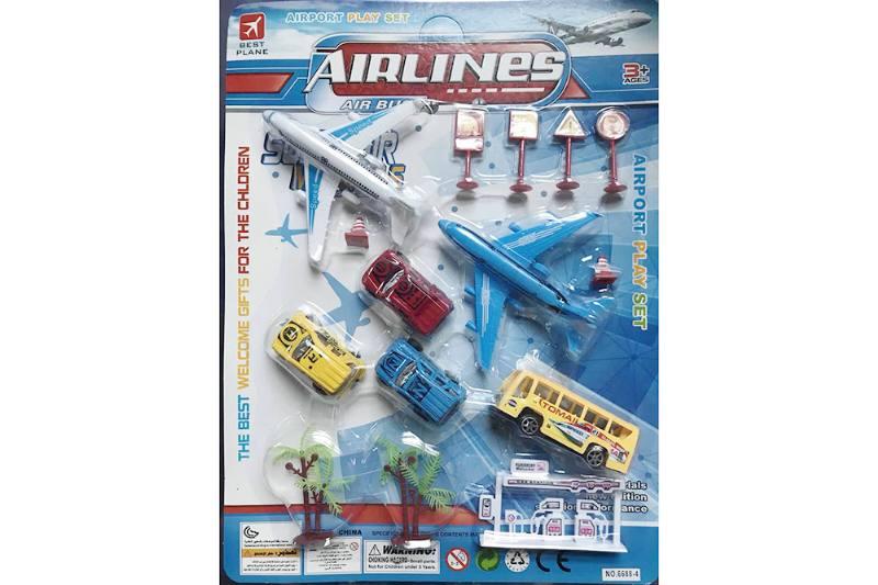 Pull back plane set toys No.TA255211