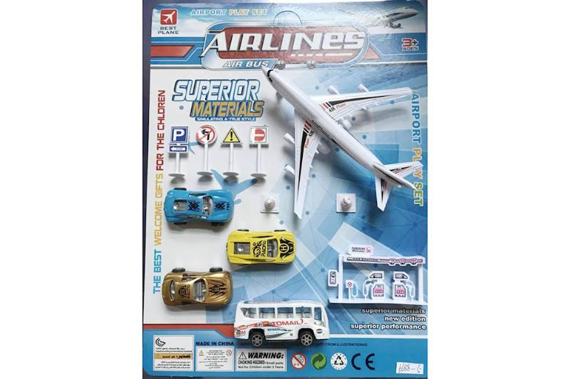 Pull back plane set toys No.TA255212