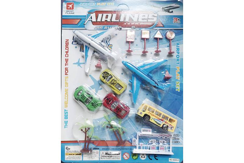 Pull back plane set toys No.TA255213