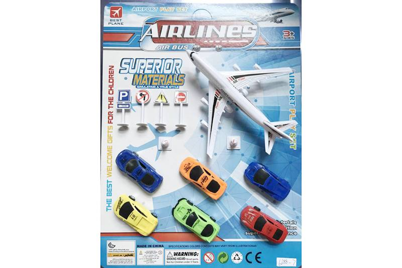 Pull back plane set toys No.TA255214