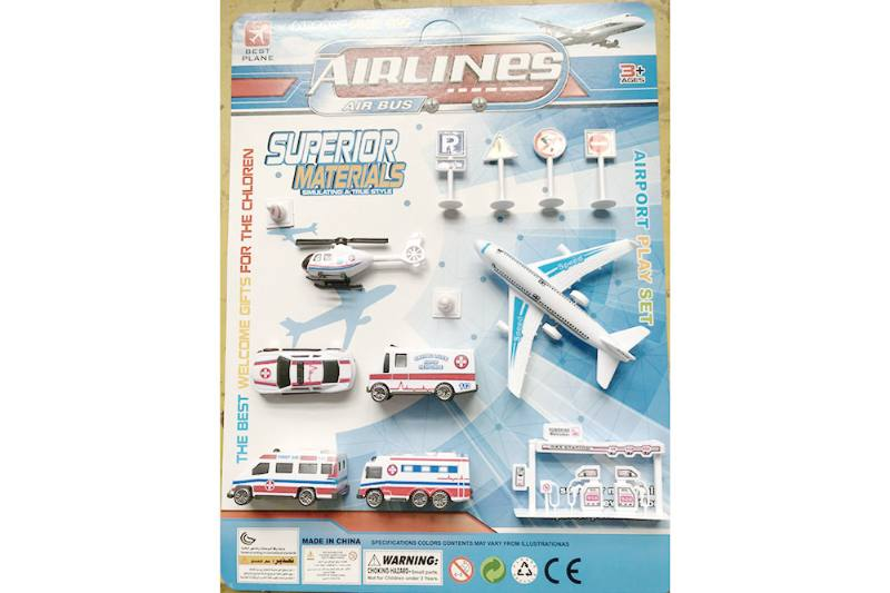 Pull back plane set toys No.TA255216