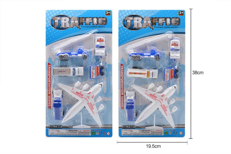 Pull back plane airport toys No.TA258170
