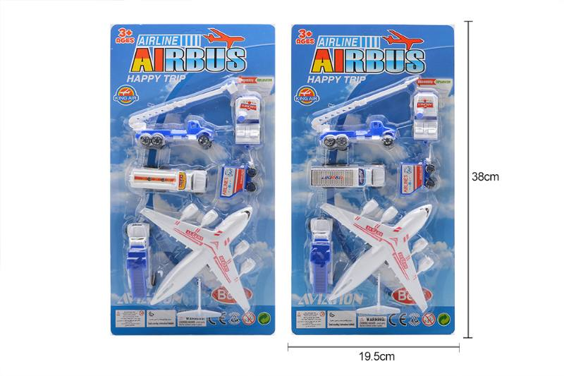 Pull back plane airport toys No.TA258171