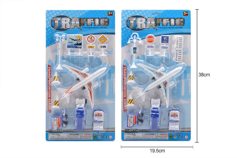 Pull back plane airport toys No.TA258173