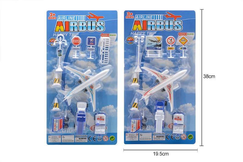 Pull back plane airport toys No.TA258174