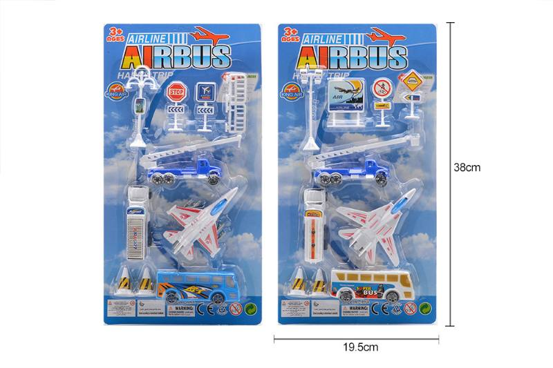Pull back plane airport toys No.TA258177