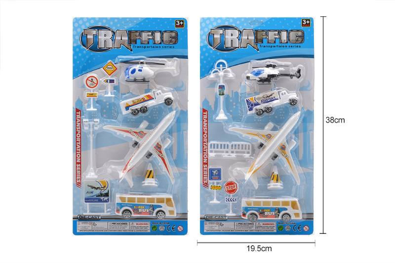 Pull back plane airport toys No.TA258178