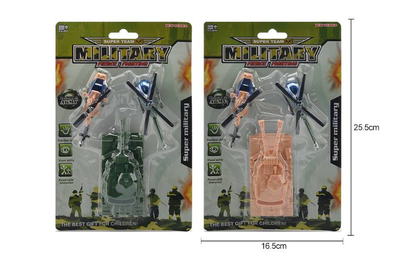 Aircraft toy Pull back tank + 2 model aircraft No.TA258201