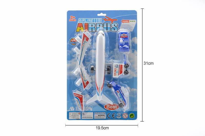 Pull back plane toys set No.TA258750
