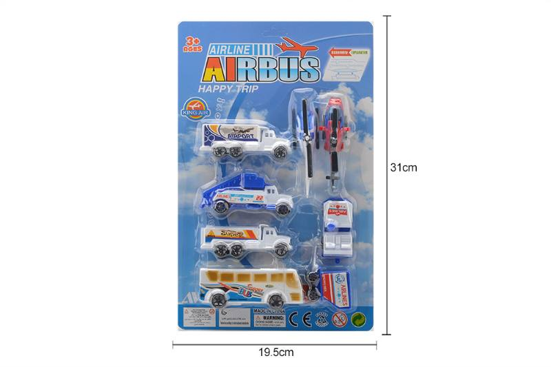 Pull back suit toy Pull back airport No.TA258770
