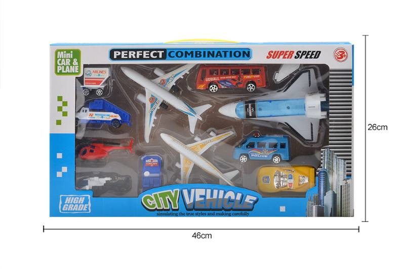 Pull back suit toy Pull back airport No.TA258785