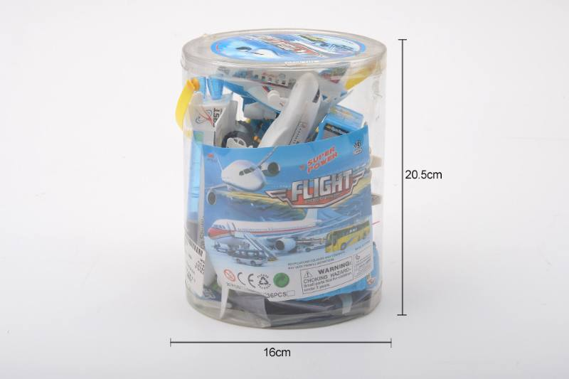 Pull back suit toy Pull back airport No.TA258786