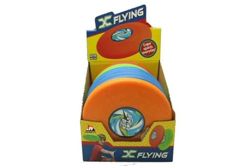 Flying toy flying saucer (7.8 inch) 24PCS four color mixed No.TA257379
