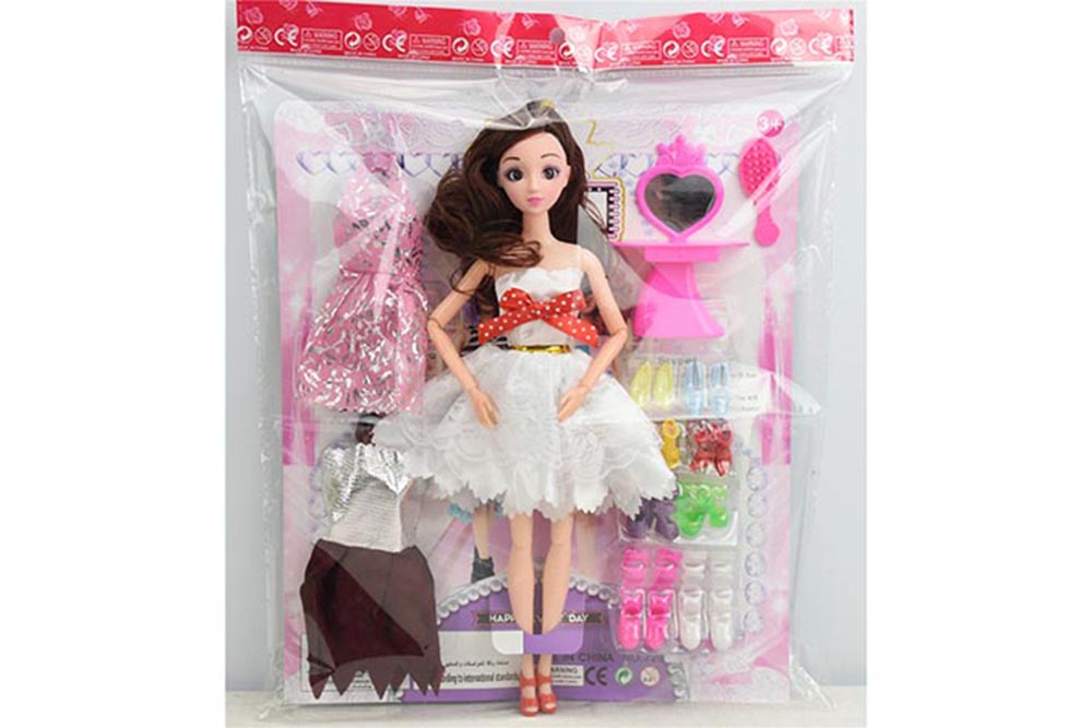 11.5 inch Barbie dolls toys with 11 joints 3D real eyes No.TA256119