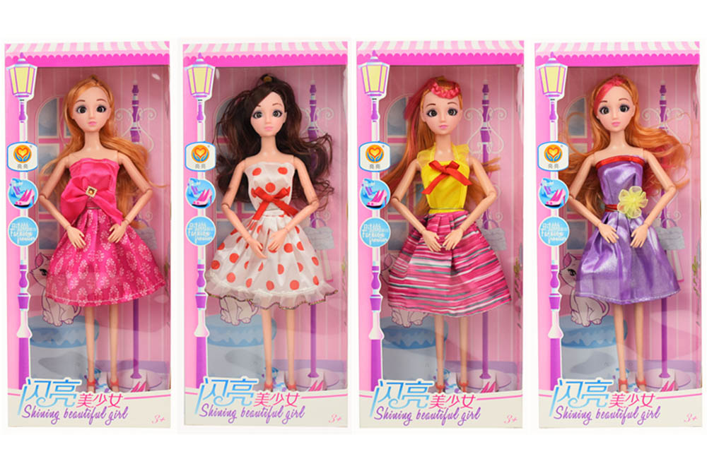 11.5 inch Barbie dolls toys with 9 joints 3D real eyes beautiful girlNo.TA256161