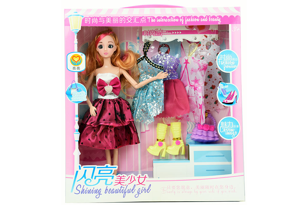 11.5 inch Barbie dolls toys with 9 joints 3D real eyes beautiful girlNo.TA256165