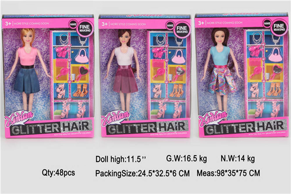 Barbie doll toys for girls No.TA261428