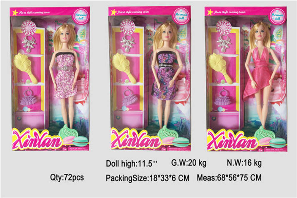 Barbie doll toys for girls No.TA261432