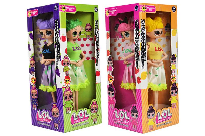 11.5 inch surprise doll (clothes can change color when exposed to sunlight) NO.TA262303