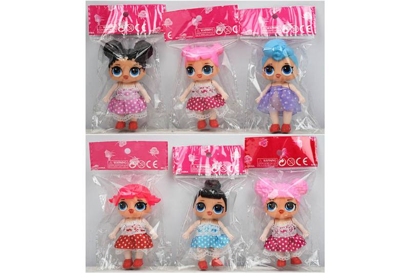 2.5 inch water spray surprise doll (6 mixed) NO.TA262311