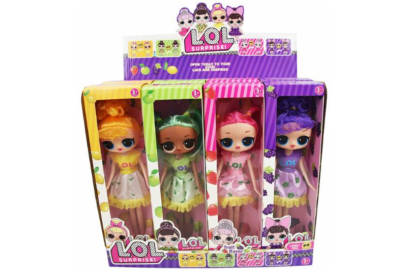 9-inch real surprise doll 12 packs (scented, clothes in case of sun discoloratio