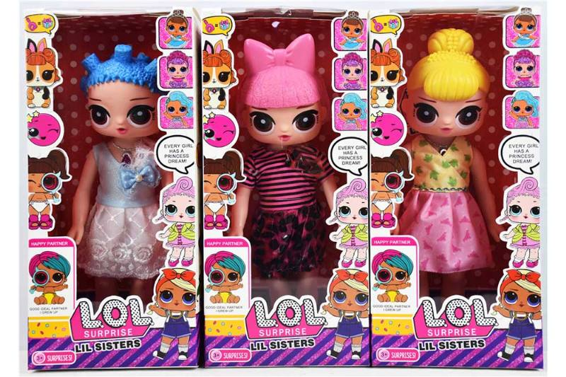 14 inch surprise doll (3 mixed) NO.TA262324