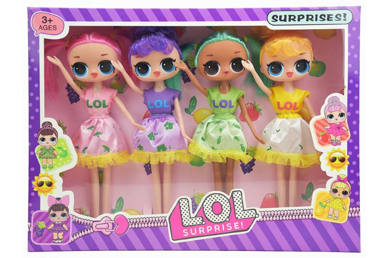9 inch real surprise doll 4 people NO.TA262328