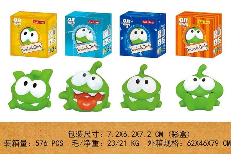 Silicone doll doll toy funny frog No.TA260249