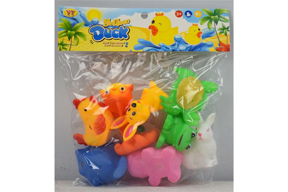 Vinyl toys 9 animals mixed No.TA261074