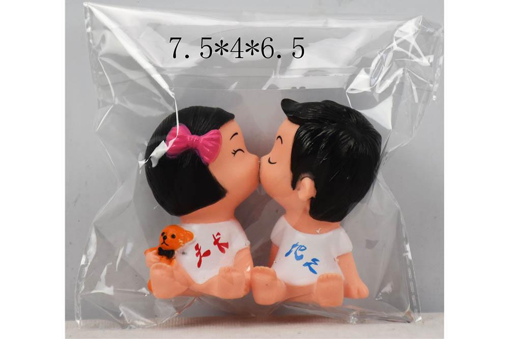 Vinyl toys enamel birthday kiss doll No.TA261094
