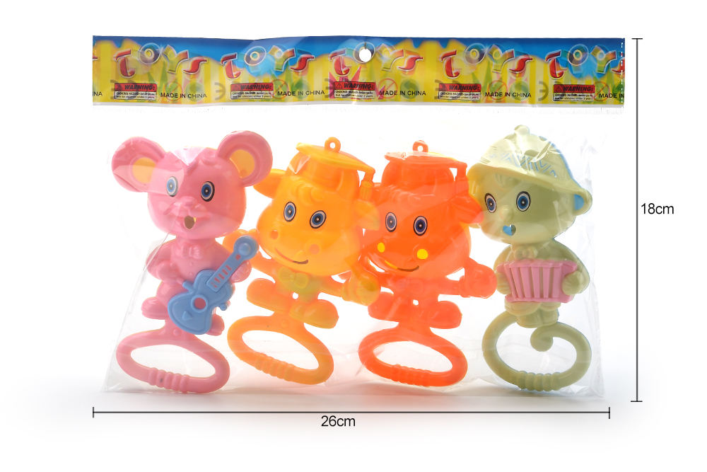 Baby early education puzzle rattle toy cartoon bell No.TA261579