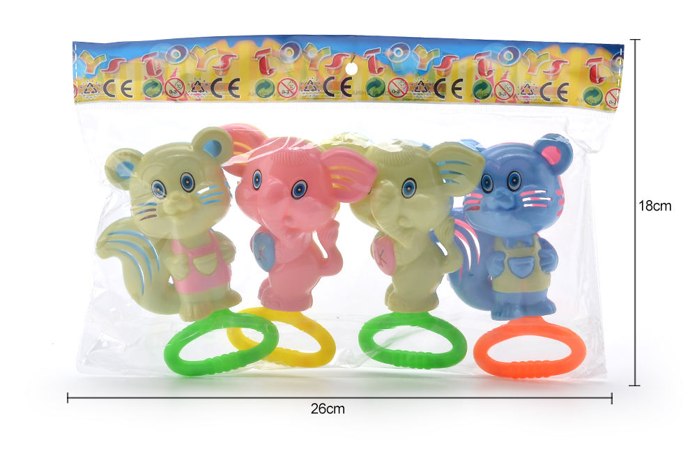 Baby early education puzzle rattle toy cartoon bell No.TA261580