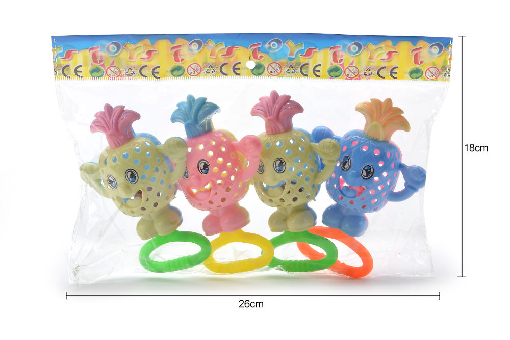 Baby early education puzzle rattle toy cartoon bell No.TA261581