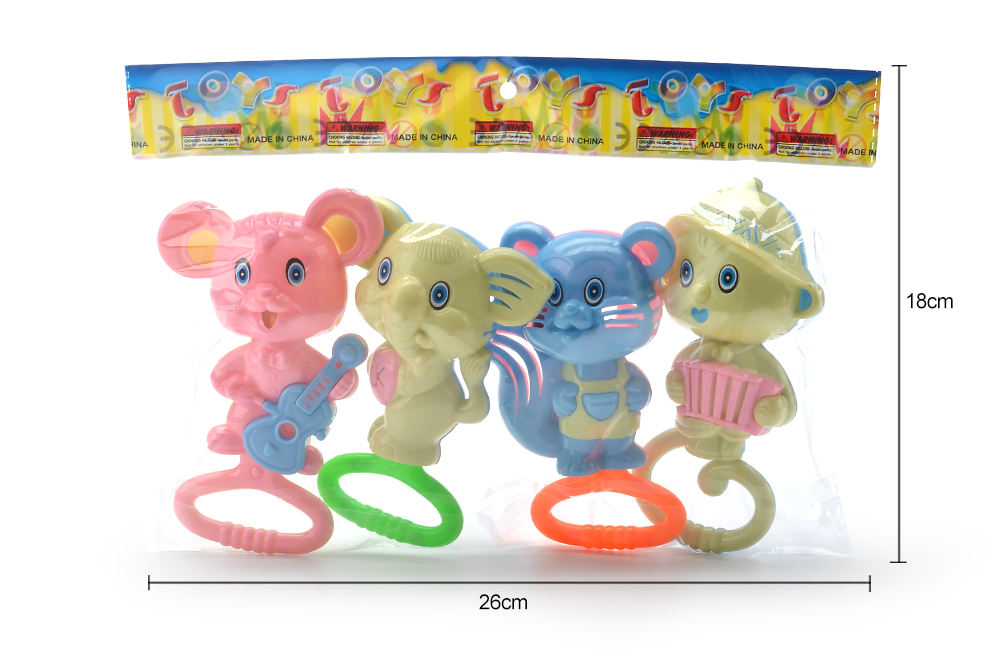 Baby early education puzzle rattle toy cartoon bell No.TA261582