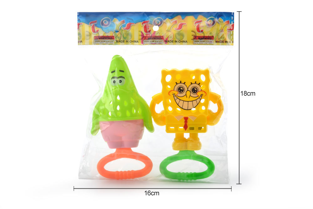 Baby Early Learning Puzzle Rattle Toy Sponge + Party Star No.TA261586